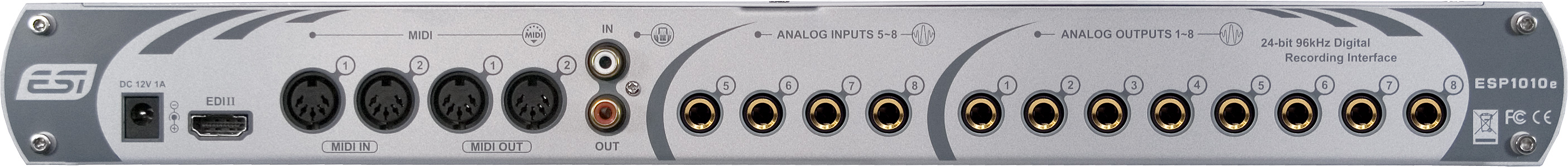 Download Drivers: ESI ESP1010e Audio Interface