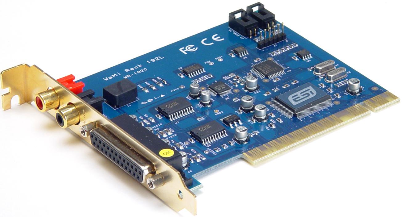 ESI WaMi Rack 24 Audio Interface Update